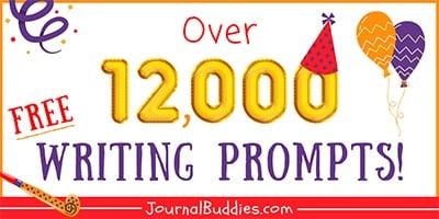 12k+ Free Writing Prompts and Journal Ideas