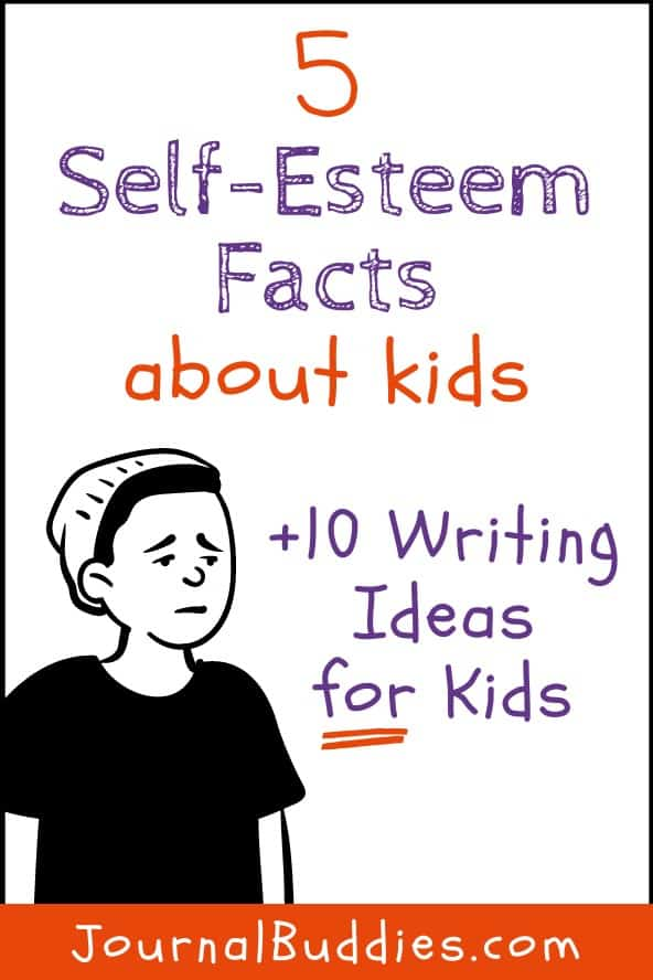 Kids Self-Esteem Facts and Writing Ideas