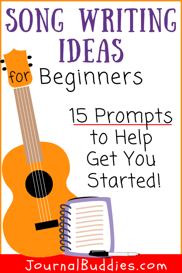 Songwriting Prompts for Beginners