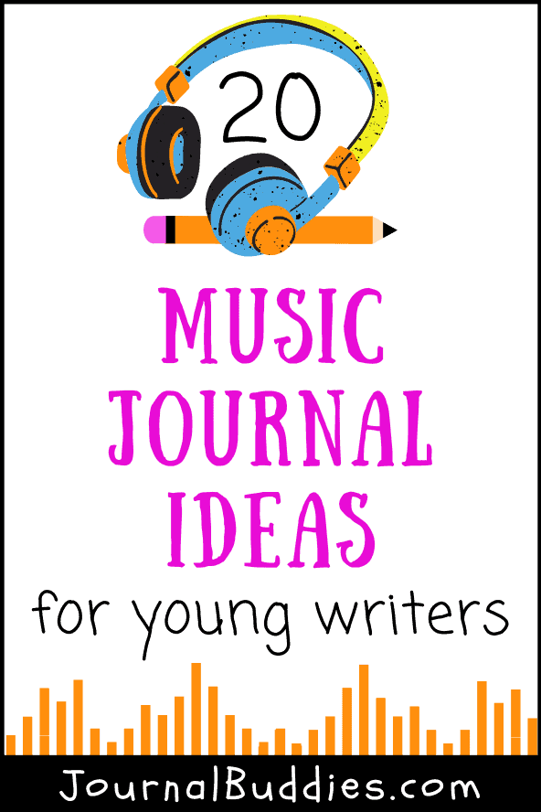 Music Journal Idea Prompts for Kids