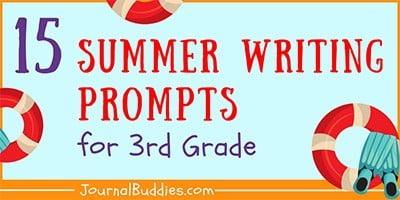 Summer Writing Prompts for 3rd Grade