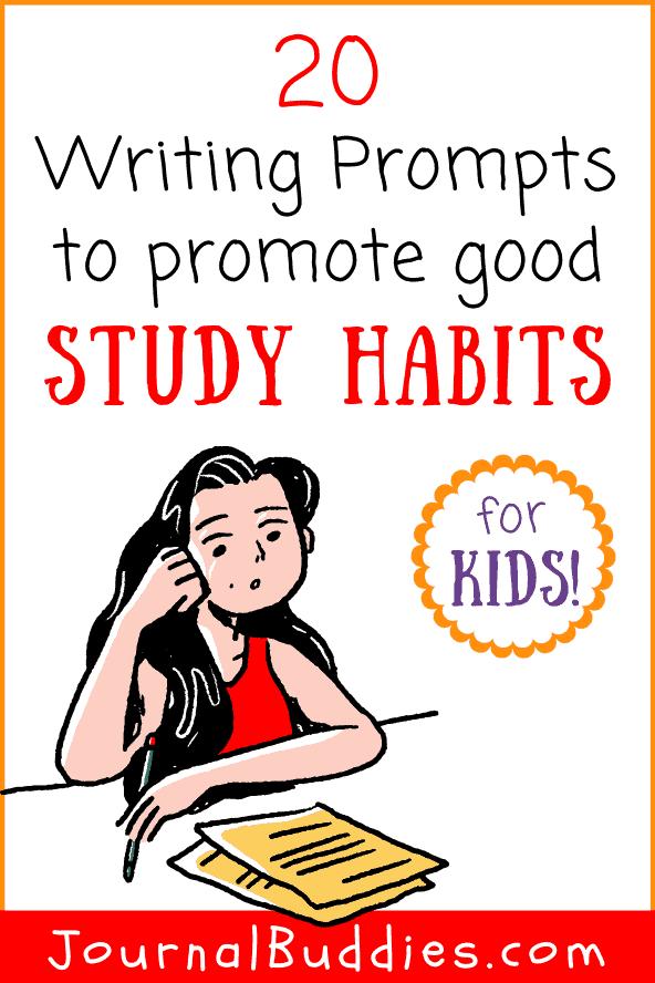 Good Study Habits Writing Ideas for Kids
