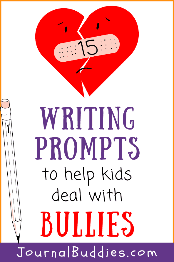 Writing Prompts to Help Kids Deal with Bullies
