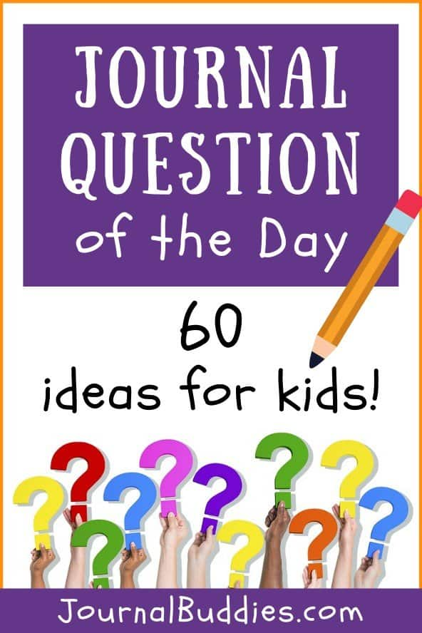 Daily Journal Questions for Kids
