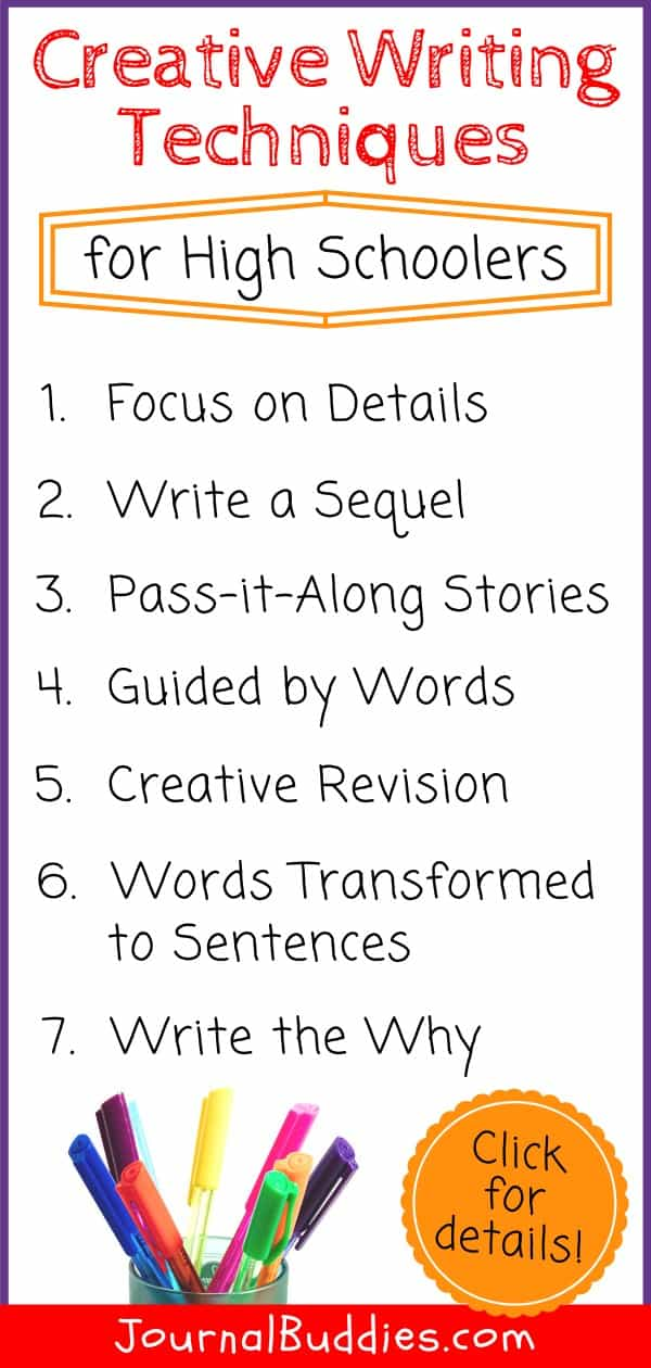 Creative Writing Techinques for High School Students