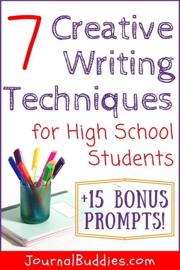 High School Creative Writing Techniques