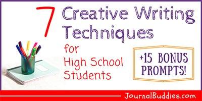 High School Creative Writing Ideas