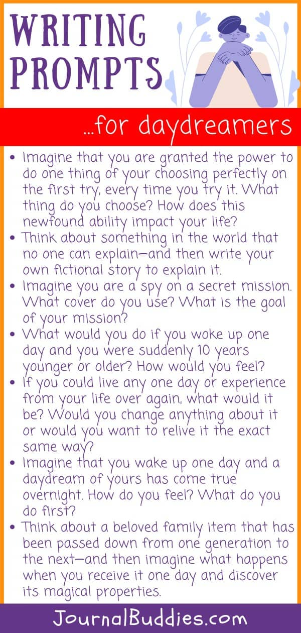 Writing Prompts for Daydreamers