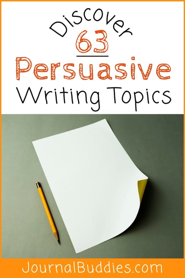 Persuasive Writing Ideas for Students