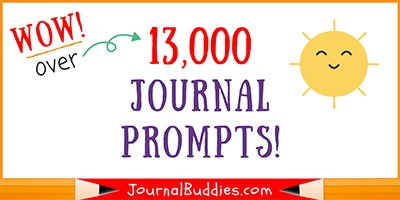 13,000 Free Journal Prompts