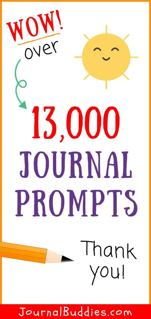 13k Writing Ideas and Journal Prompts