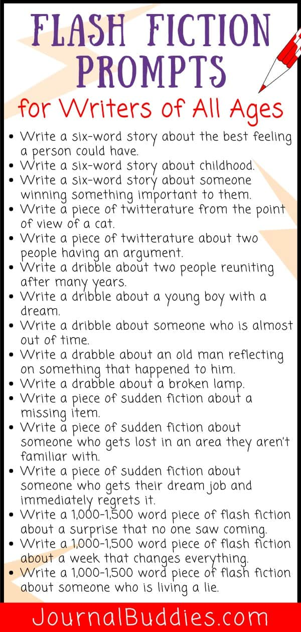 Flash Fiction Prompts and Writing Ideas