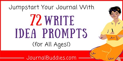 Write Idea Journal Prompts for All Ages
