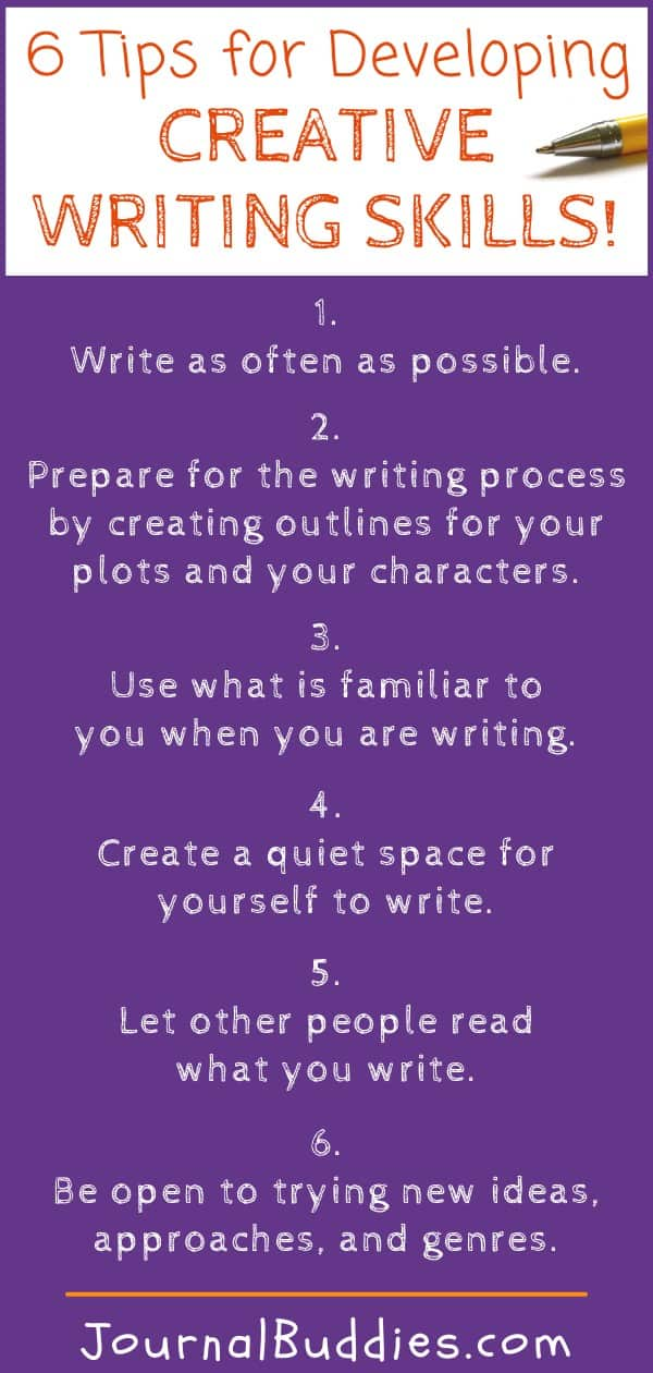 Creative Writing Skills and Prompts for All Age Writers