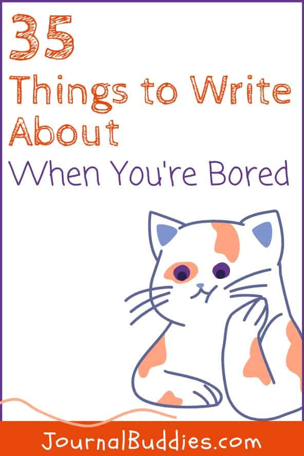 Writing Prompts to Use When You Are Bored