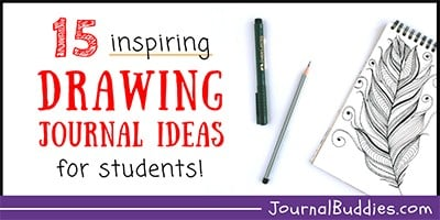 Drawing Journal Prompts for Students